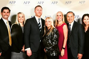 SDCCU staff at AFP Philanthropic Business of the Year Awards