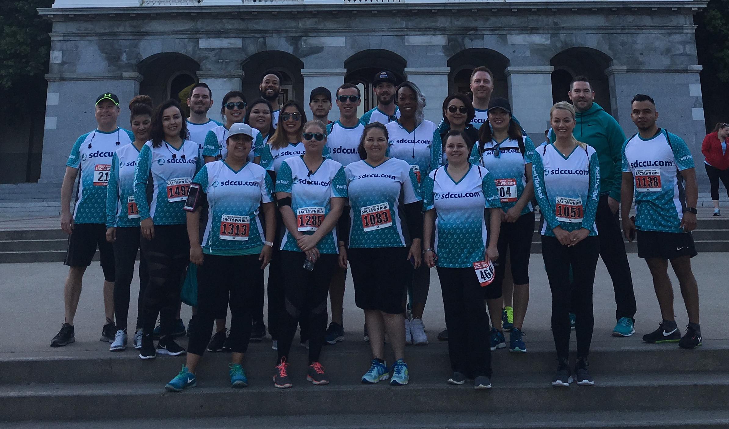 sdccu sactown 10 mile run photo of sdccu employees