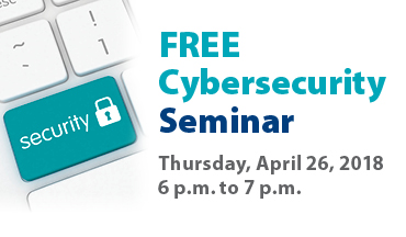 free cybersecurity seminar with jim stickley poster